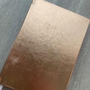 Target Think Big Gold Notebook ✨